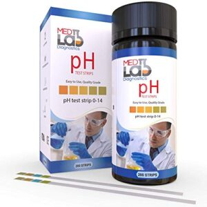 pH Test Strips 0 to 14 (200 ct)